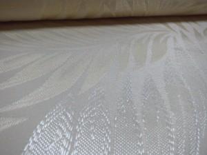 white jacquard fabric