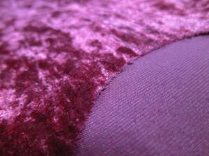 designer crushed velvet fabric