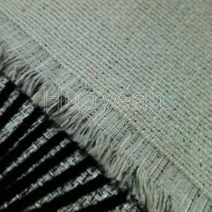 teal upholstery fabric backside