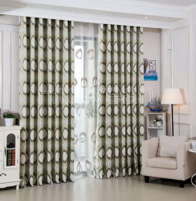 curtains in living room