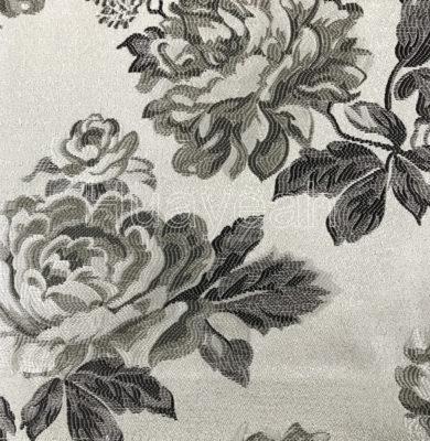 cushion cover floral jacquard fabric