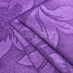 dye velvet fabric close look